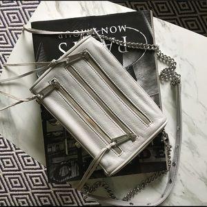 Rebecca Minkoff Mini 3-zip Crossbody Bag